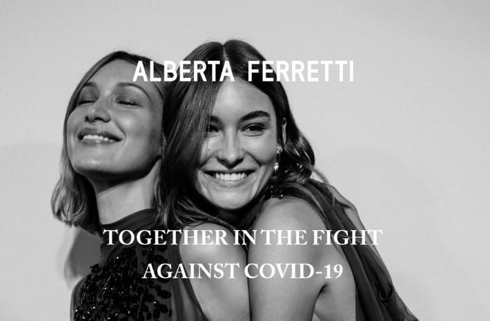 Alberta Ferretti, 15% acquisti online ad Ausl Romagna e Humanitas