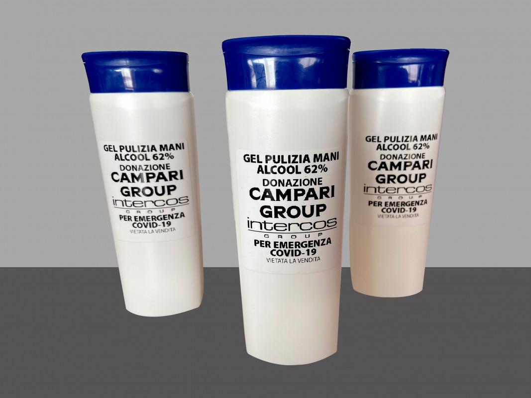 Coronavirus, Campari e Intercos insieme per produrre e distribuire gel igienizzante