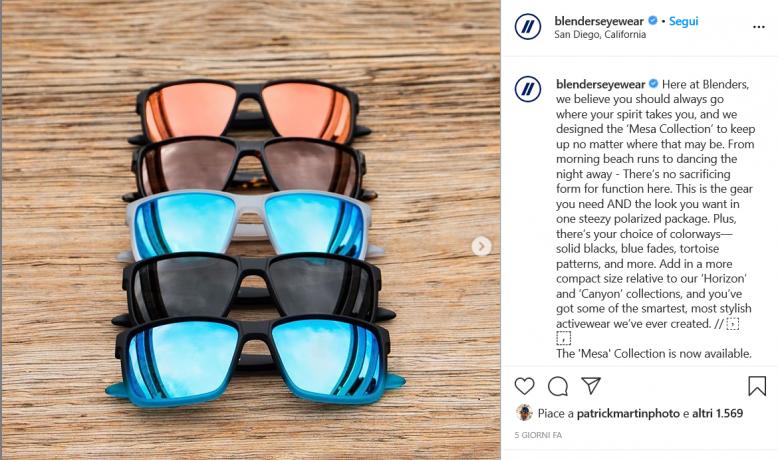 Safilo completa acquisizione 70% Blenders Eyewear per 57,5 mln euro