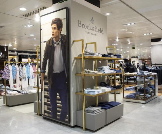 Brooksfield apre a Madrid il primo flagshipstore in Spagna