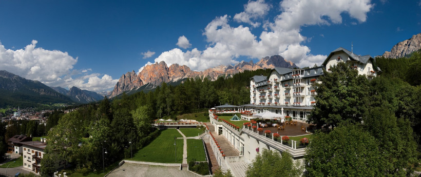 Il Cristallo di Cortina (Marriott International) tra i bike hotel di lusso