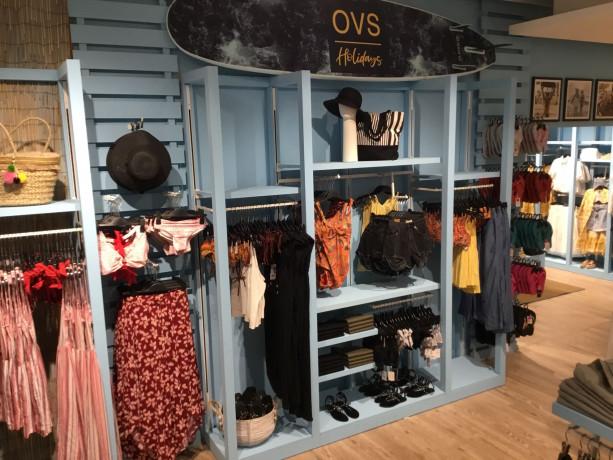 Ovs lancia prototipo di store dedicato alle vacanze