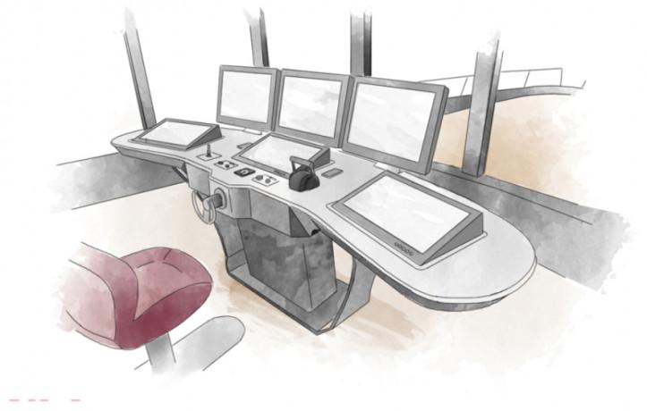Seastema (Fincantieri) consegna a Benetti la nuova console di plancia