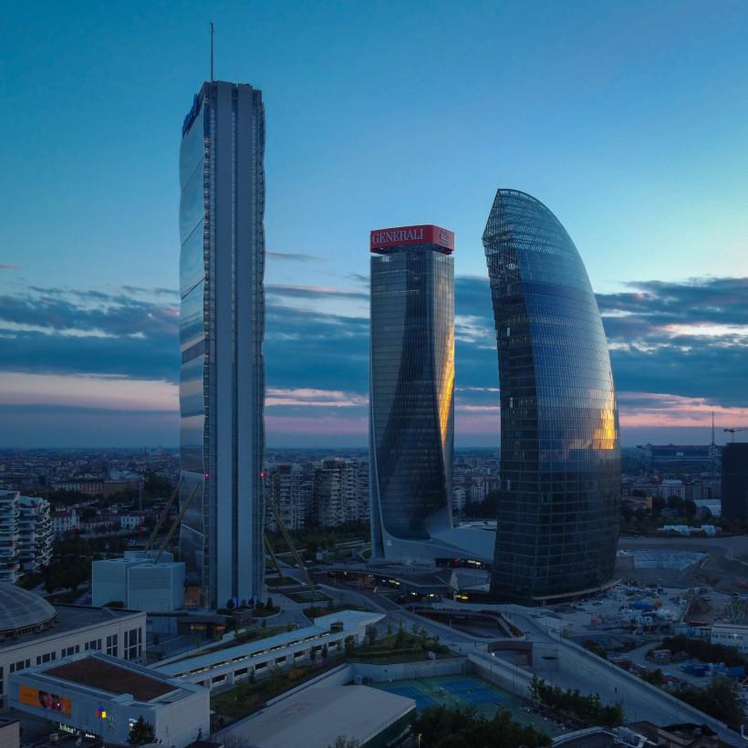 Completata la Torre Libeskind a CityLife, la nuova casa di PwC