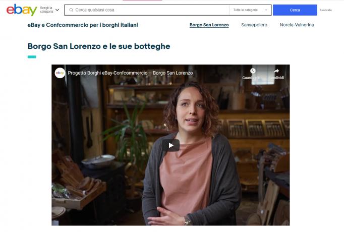 I piccoli borghi italiani sbarcano su eBay, accordo tra il marketplace e Confcommercio