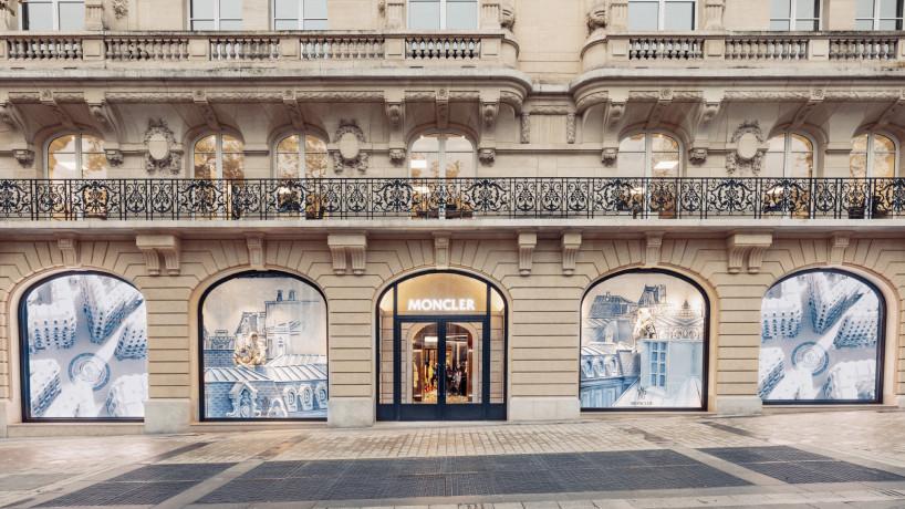 A Parigi la più grande boutique di Moncler,  una nuova frontiera tra moda e cultura