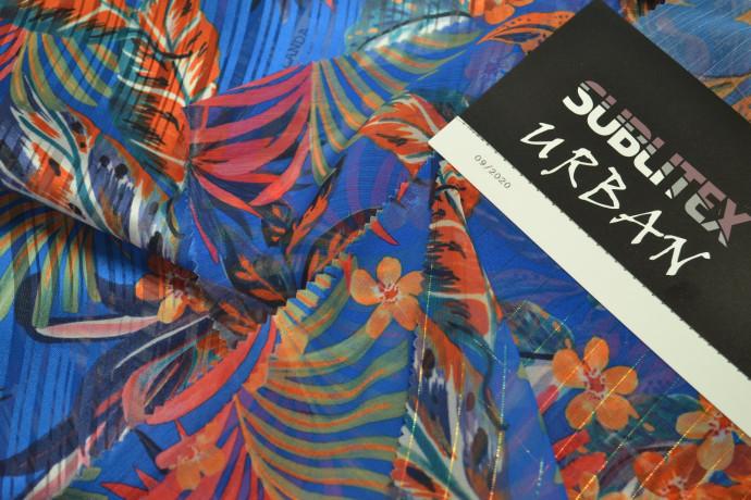 Tessuti in poliestere stampati per la nuova collezione Urban di Sublitex (Miroglio)