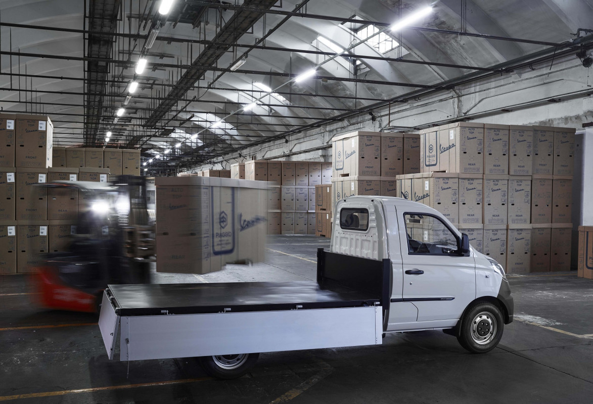 Arriva Porter NP6, il nuovo city truck di Piaggio