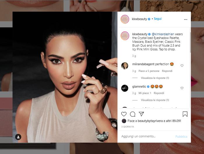 Coty acquisisce per 200 milioni di dollari il 20% della Kim Kardashian West Beauty