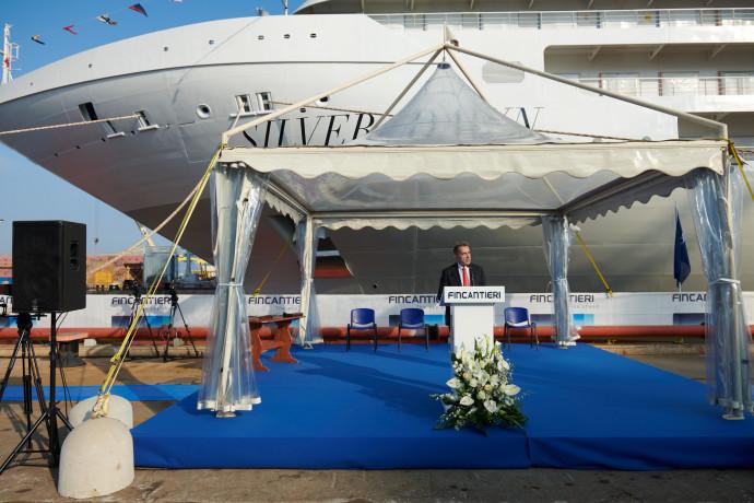 Silversea Down varata ad Ancora, è la decima nave della flotta