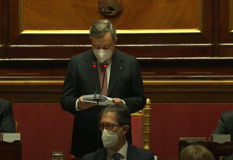 La Nuova Ricostruzione di Mario Draghi, il discorso integrale in Senato