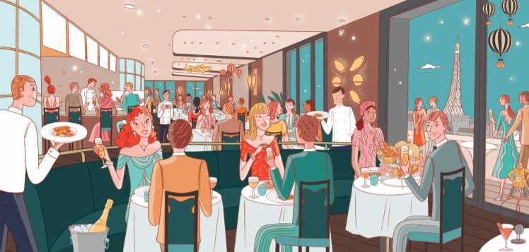 Langosteria apre a Parigi in partnership con Cheval Blanc