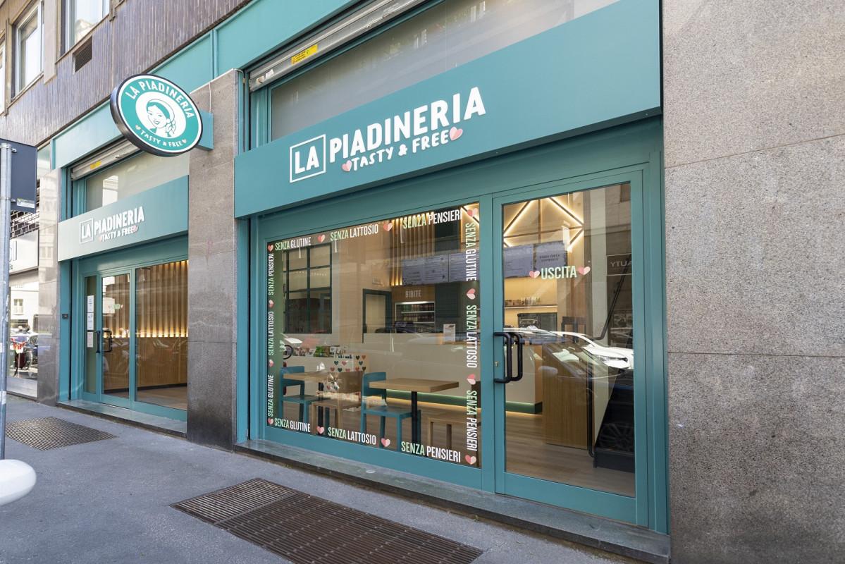 Al via il pilota 'Tasty and free' de 'La Piadineria'