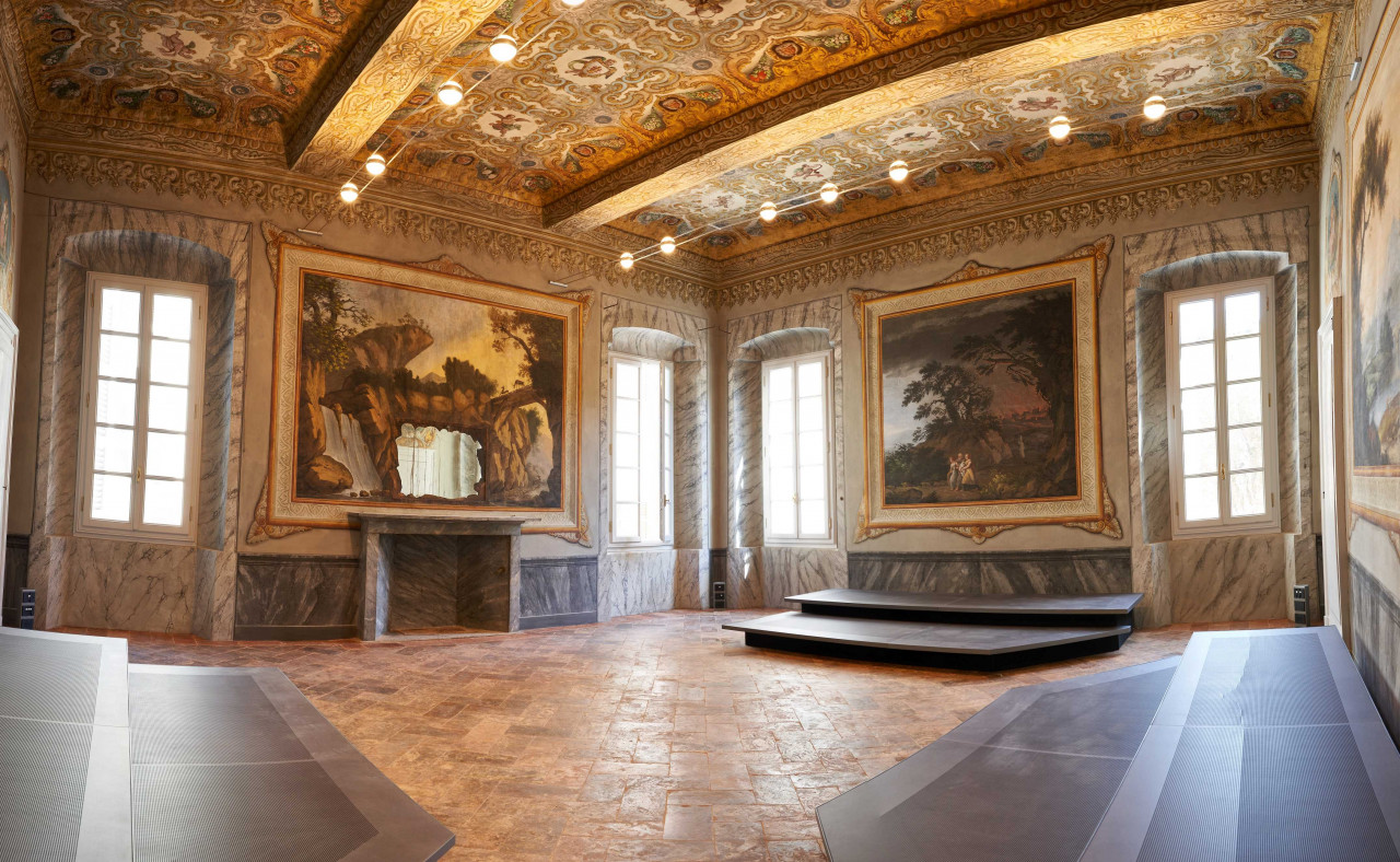 Pininfarina per Palazzo Stauffer, ora sede dell'Accademia internazionale dedicata agli strumenti ad arco