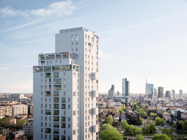 Torre Milano, al 12esimo piano il primo appartamento modello
