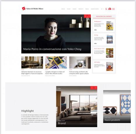 """Online la piattaforma digitale. Feltrin, """"da oggi Salone del Mobile tutto l'anno"""""""