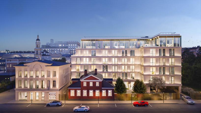 Giorgio Armani e la russa Vos'hod insieme per un complesso residenziale a Mosca