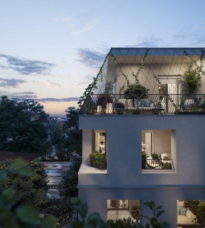 Parte cantiere Certosa 135, nuovo progetto residenziale di Borio Mangiarotti
