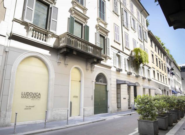 Milano, lavori in corso in via Gesù. Ludovica Mascheroni apre 'L'Appartamento'
