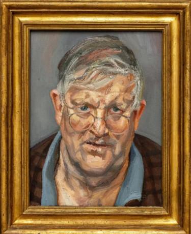 Londra si riprende il centro della scena, ritratto di Hockney di Lucian Freud venduto all'asta a 20,7 mln di dollari
