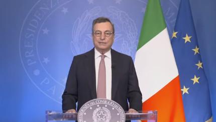 """Food System Summit. Draghi, """"a rischio sforzi per combattere la fame"""""""