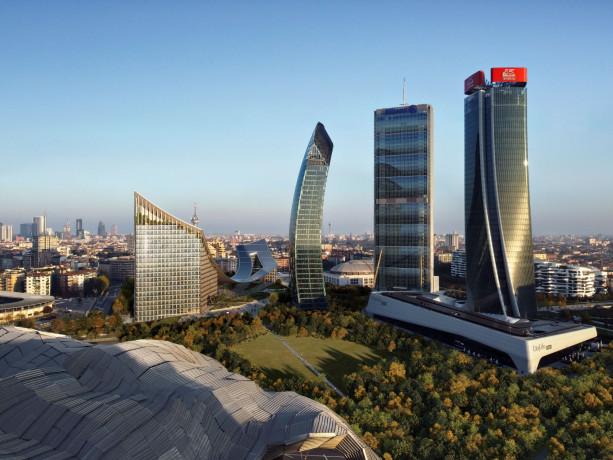 Milano, al via i lavori per il CityWave che completa il progetto di CityLife