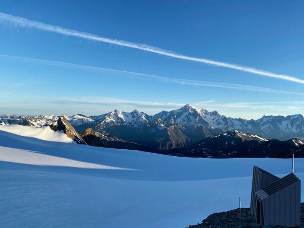 Progetto CMR progetta bivacco su ghiacciaio Rutor in ricordo di Edoardo Camardella